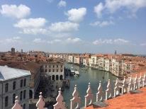 Atop the Ponte dell'Accademia (Venice, Italy)
